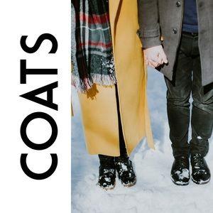 Spring, Fall, Winter coats 🧥